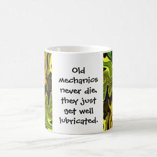 mechanics get lubricated basic white mug