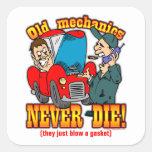 Mechanics Stickers