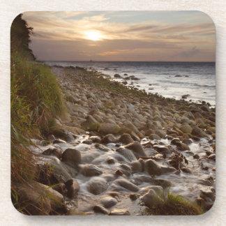 Mecklenburg Coast sunset Coaster