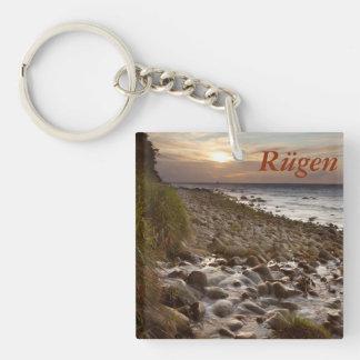 Mecklenburg Coast sunset Key Ring