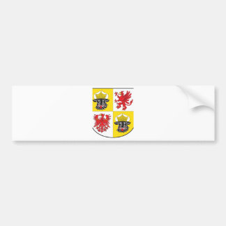 Mecklenburg-Western Pomerania coat of arms largely Bumper Sticker