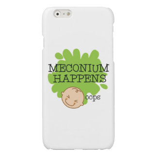 Meconium Happens Funny Phone Case iPhone 6 Plus Case