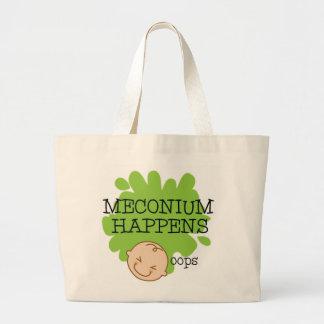 Meconium Happens Midwife Tote Bag
