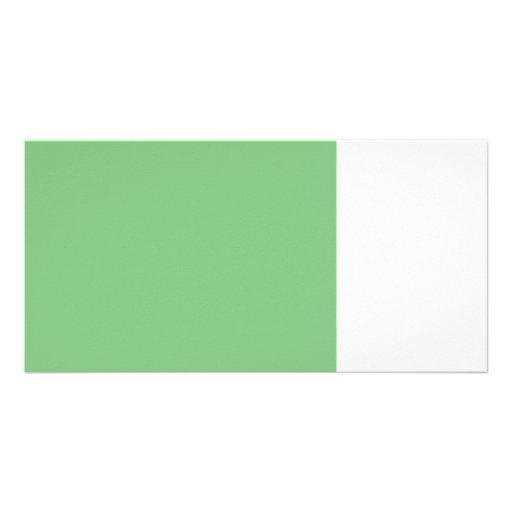 med green 8 x 11 50 lightness DIY custom product Photo Card
