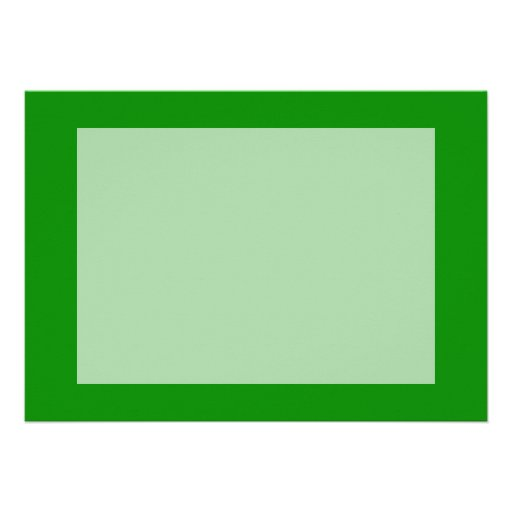 med green DIY custom background template Personalized Invite