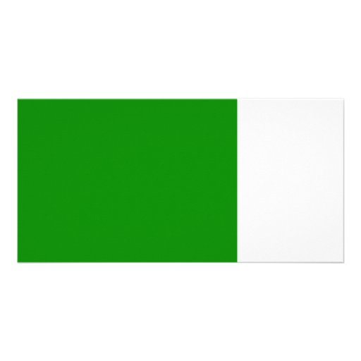 med green DIY custom background template Picture Card