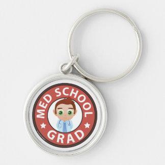 Med School Grad Key Chain