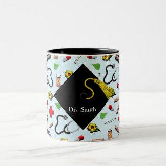 Med School Grad Two-Tone Coffee Mug