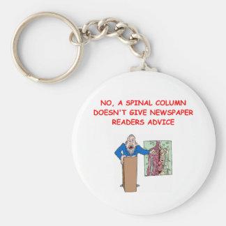 med school joke key chain