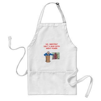med school joke standard apron