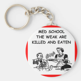 med school keychain