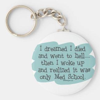 Med School or Hell? Key Ring