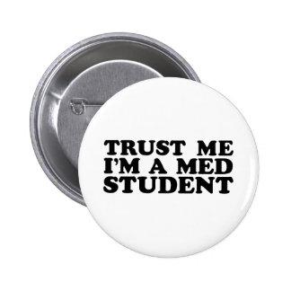 Med Student 6 Cm Round Badge