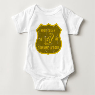 Med Student Drinking League Baby Bodysuit