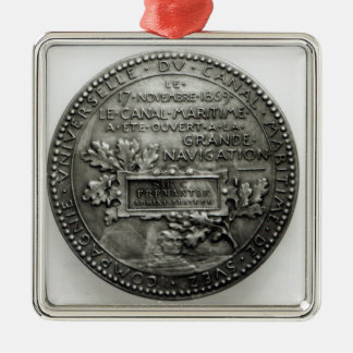 Medal commemorating the opening of the Suez Christmas Ornament