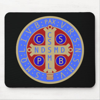 Medal of St. Benedict Mousepad