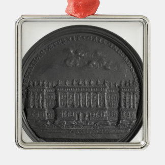Medal with Bernini's design for the Louvre Christmas Ornament