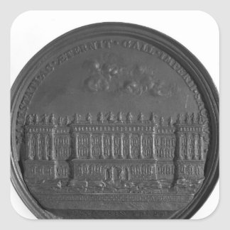 Medal with Bernini's design for the Louvre Square Sticker