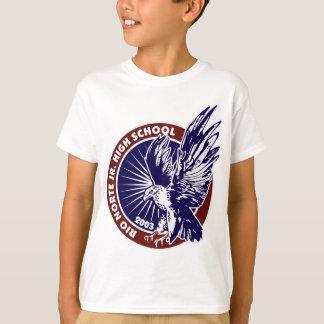 Medallion Blue w Red Trim.jpg T-Shirt