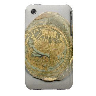 Medallion depicting Jonah and the whale, Roman, 4t iPhone 3 Covers