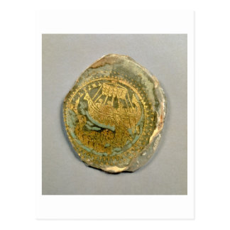 Medallion depicting Jonah and the whale, Roman, 4t Postcard