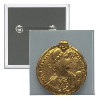 Medallion of Constantius II, minted at Antioch 15 Cm Square Badge