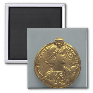 Medallion of Constantius II, minted at Antioch Square Magnet