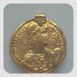 Medallion of Constantius II, minted at Antioch Square Sticker