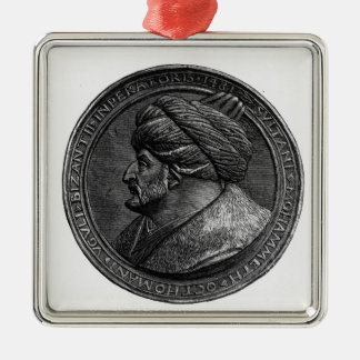 Medallion of Mehmed II Christmas Ornament