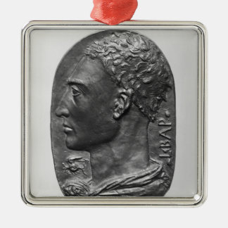 Medallion Self Portrait Christmas Ornament