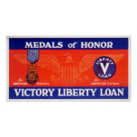Medals of honour - Victory Liberty Loan