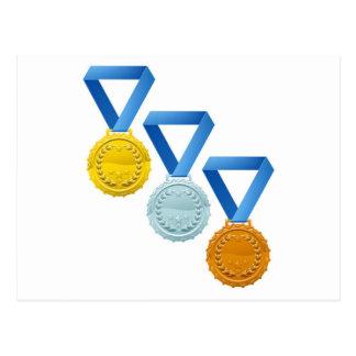 Medals Postcards