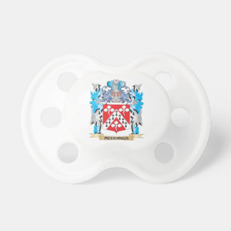 Meddings Coat of Arms - Family Crest Pacifiers