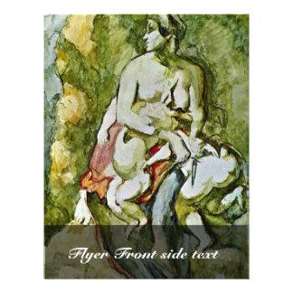 Medea (After Delacroix) By Paul Cézanne 21.5 Cm X 28 Cm Flyer