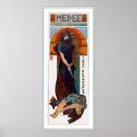 Medee (Medea) - Mucha - Art Nouveau Theatre ad