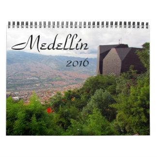 medellín 2016 wall calendar