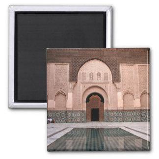 Medersa ben Youssef Square Magnet