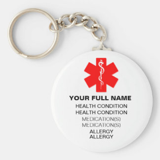 Medi-Alert Key Chain