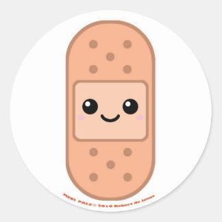 Medi Pals Bandage Round Sticker