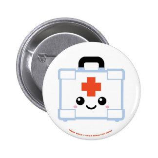Medi Pals First Aid Kit 6 Cm Round Badge