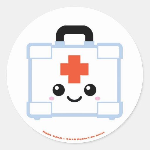 Medi Pals First Aid Kit Stickers