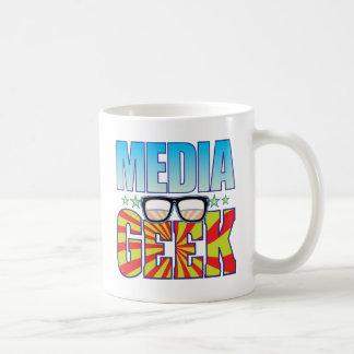 Media Geek v4 Mug