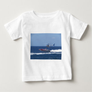 Media Helicopter Baby T-Shirt