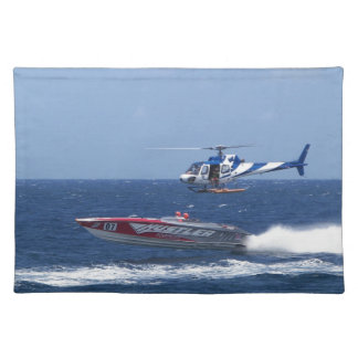 Media Helicopter Placemat