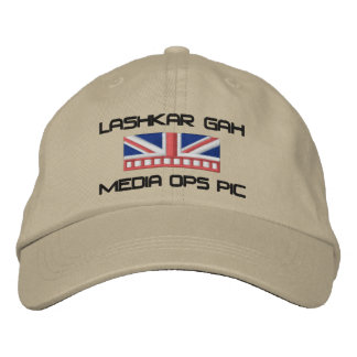 Media Ops PIC Embroidered Baseball Cap