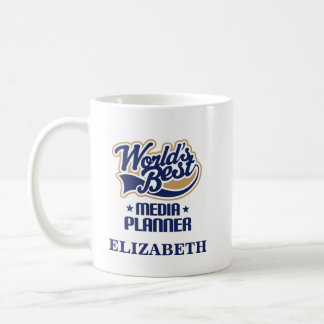 Media Planner Personalized Mug Gift
