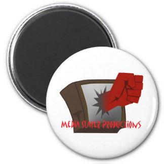 MEdia Slayer Accesories 6 Cm Round Magnet