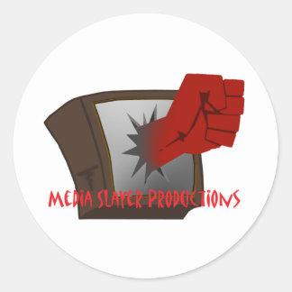MEdia Slayer Accesories Classic Round Sticker