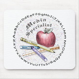 Media Specialist Mouse Mat