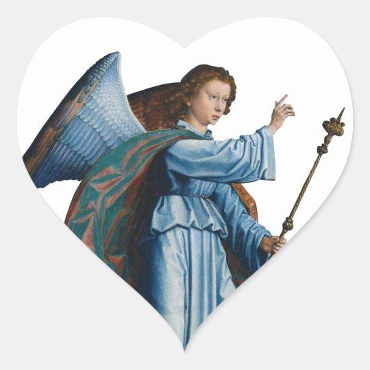 mediaeval angel Sticker